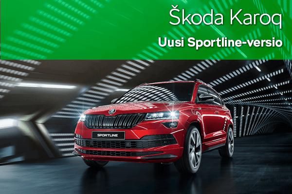 Skoda Karoq Sportline | Loimaan Laatuauto Oy