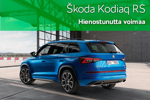 Skoda Kodiaq RS | Loimaan Laatuauto Oy