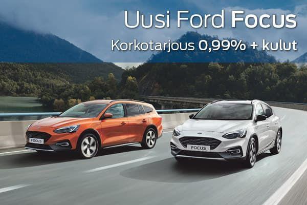 Uusi Ford Focus kampanja | Loimaan Laatuauto Oy