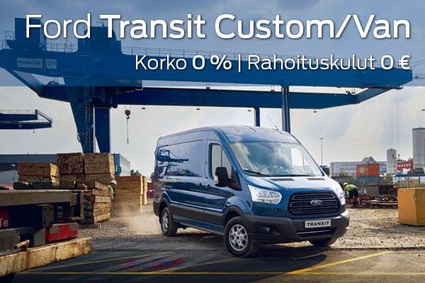 Ford Transit Van kampanja | Loimaan Laatuauto Oy