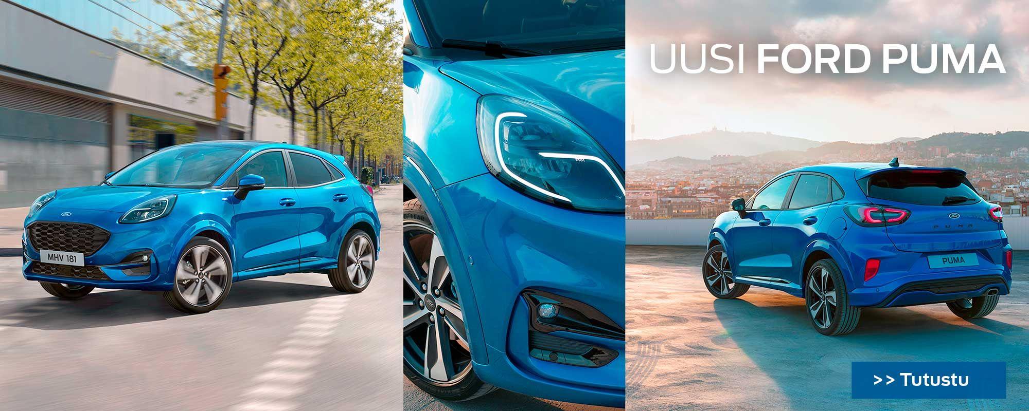 Uusi Ford Puma kevythybridi | Loimaan Laatuauto Oy