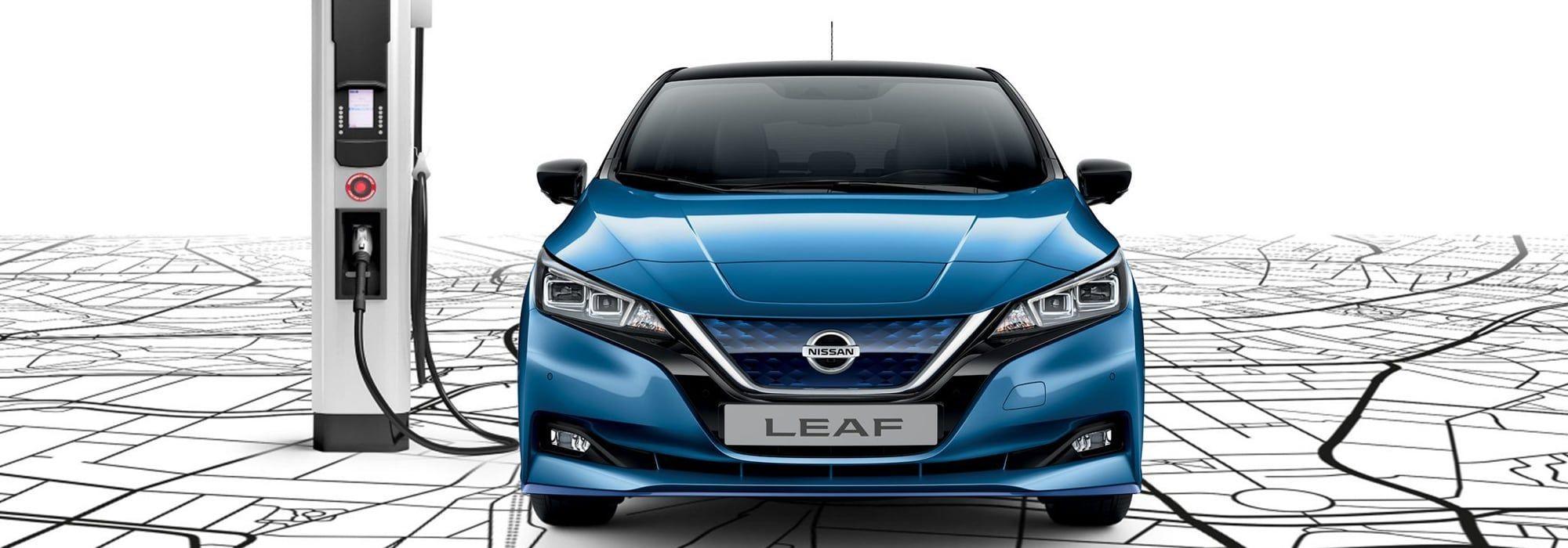 Nissan Leaf koeajettavana Loimaan Laatuautossa