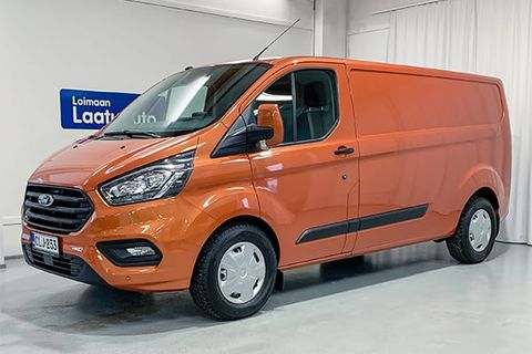 Ford Transit Custom Orange | Loimaan Laatuauto Oy