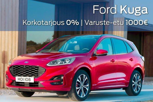 Ford Kuga kampanja   Loimaan Laatuauto Oy