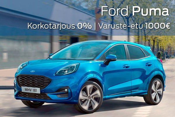 Ford Puma kampanja  Loimaan Laatuauto Oy