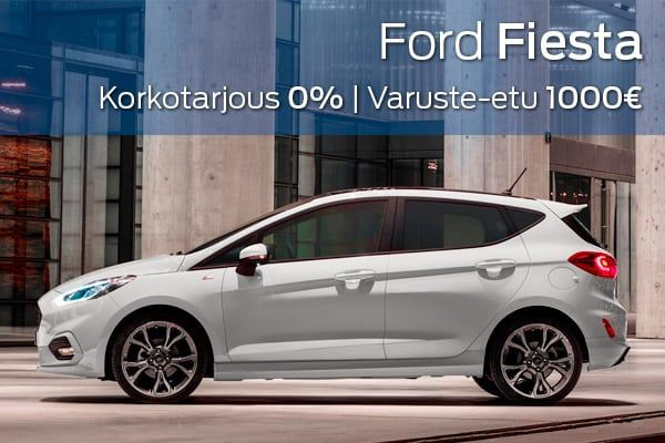 Ford Fiesta kampanja   Loimaan Laatuauto