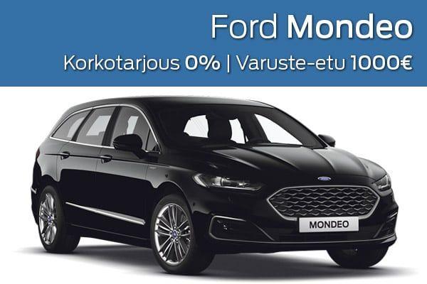 Ford Mondeo kampanja   Loimaan Laatuauto Oy