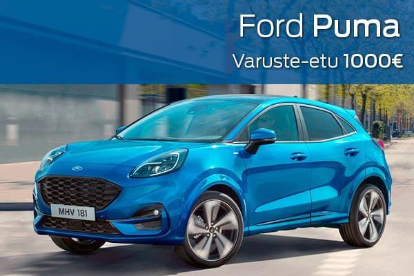 Ford Puma kampanja |Loimaan Laatuauto Oy