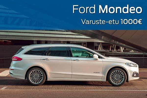 Ford Mondeo kampanja | Loimaan Laatuauto Oy