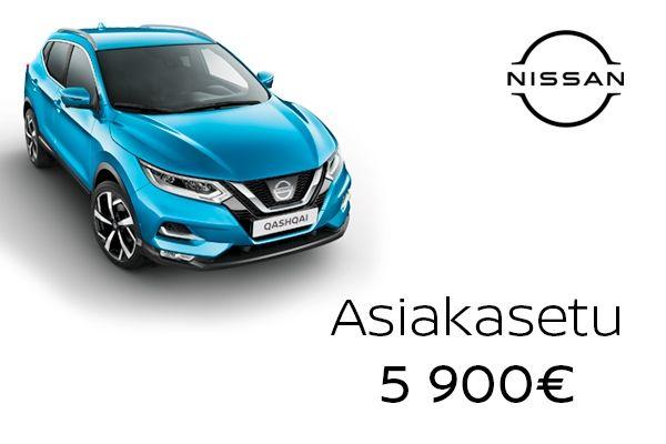 Nissan Qashqai kampanja |Loimaan Laatuauto Oy