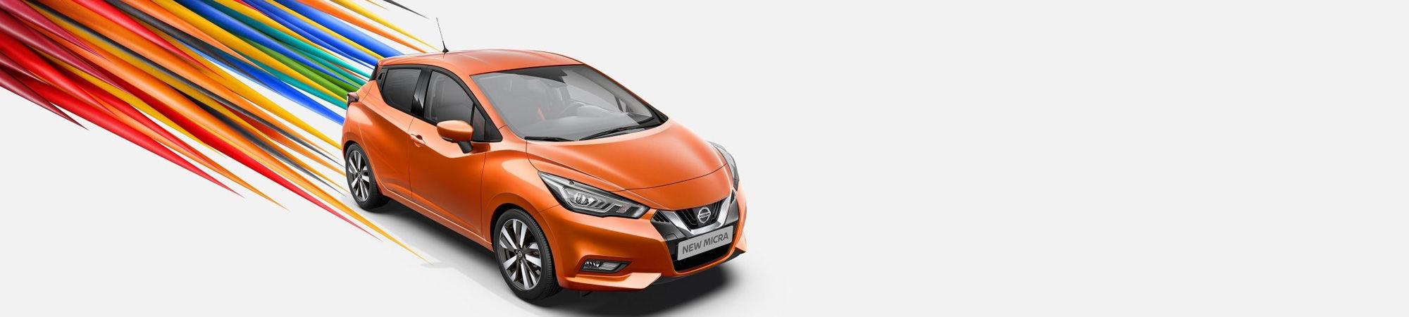 Meiltä löydät kaikki Nissan mallit.
