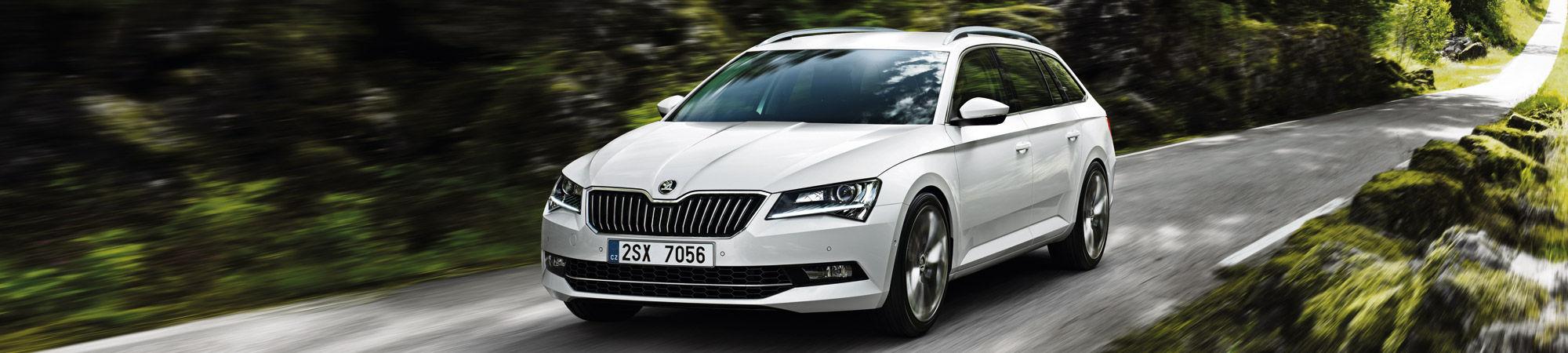 Škoda Superb tarjoaa enemmän tehoa ja taloudellisuutta