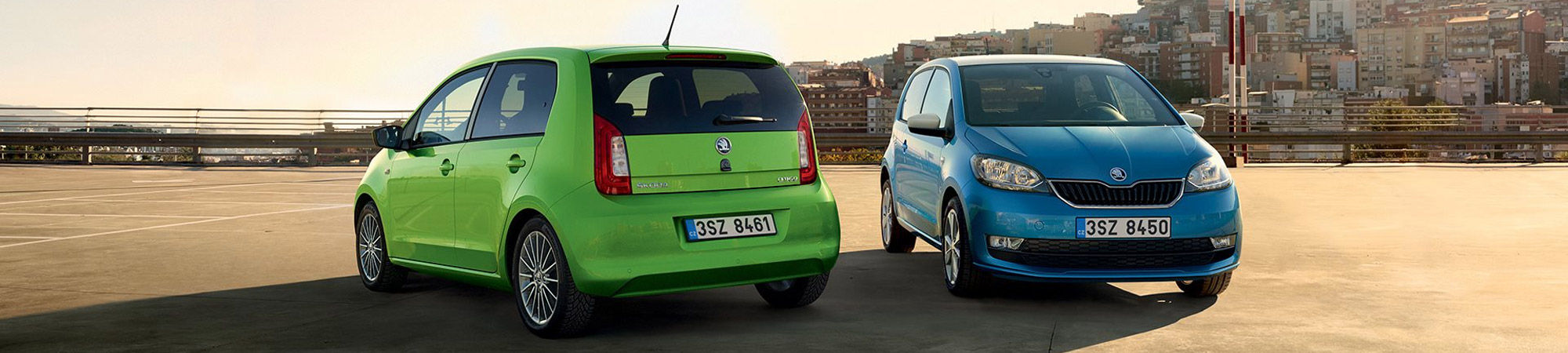 Kokoaan tilavampi Škoda Citigo