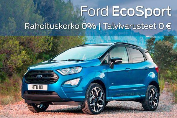 Ford Ecosport kampanja | Loimaan Laatuauto Oy