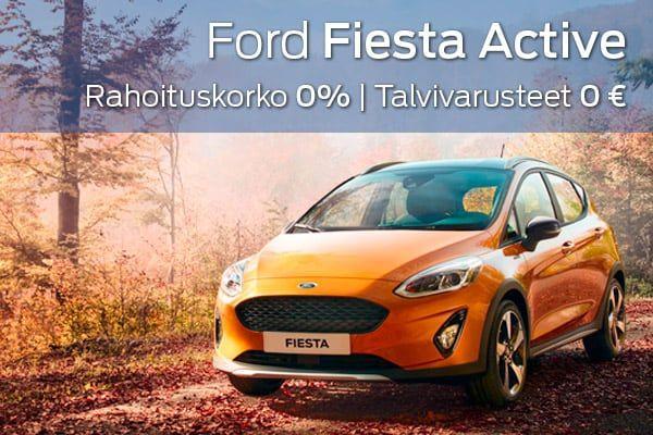 Ford Fiesta Active kampanja | Loimaan Laatuauto