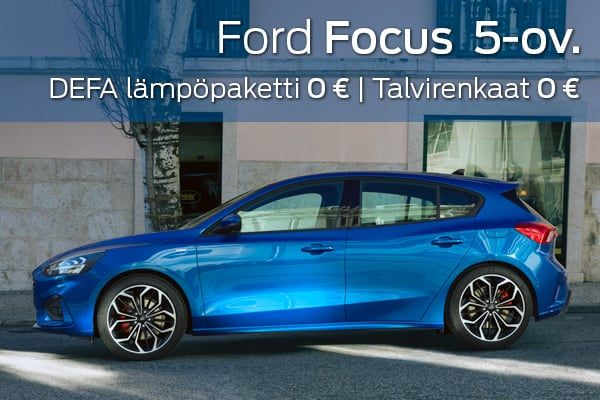 Ford Focus kampanja | Loimaan Laatuauto Oy