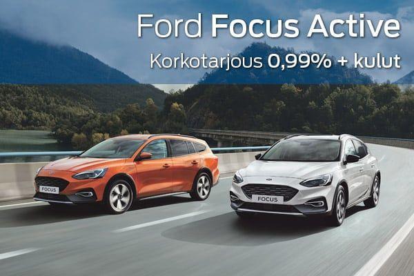 Ford Focus Active kampanja | Loimaan Laatuauto Oy