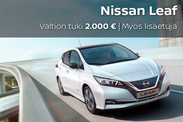 Nissan Leaf kampanja | Loimaan Laatuauto Oy