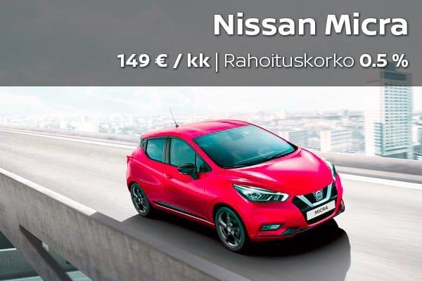 Nissan Micra kampanja | Loimaan Laatuauto Oy