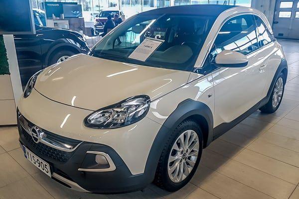 Opel Adam 1.0T Ecotec Rocks | Loimaan Laatuauto Oy